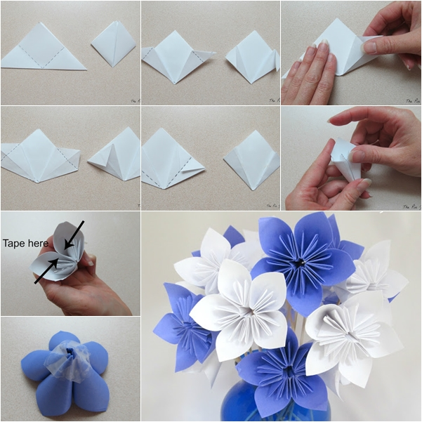Paper flower bouquet instructions 2276699 - sciencemadesimple.info